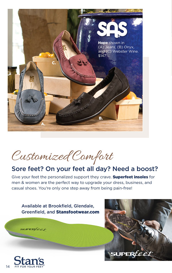 fe385667490 Stan s Fit For Your Feet Fall Catalog 2018