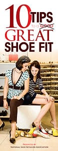 10 Tips to a Great Shoe Fit