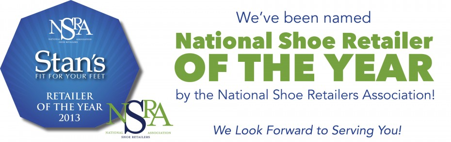 National Shoe Retailer of the Year-Stan's Fit For Your Feet