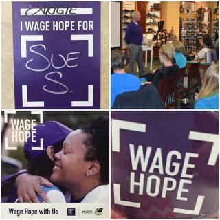 Wage Hope with Stan's and New Balance Milwaukee.