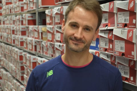 Adam, a Fit Specialist at New Balance in Brookfield