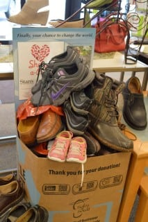 Emma's Shoes in our Share-A-Pair Bin!