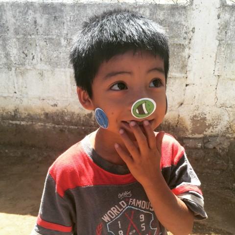Cutest Sticker Boy!
