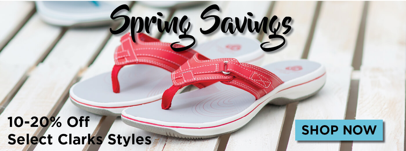 Clarks Spring Savings