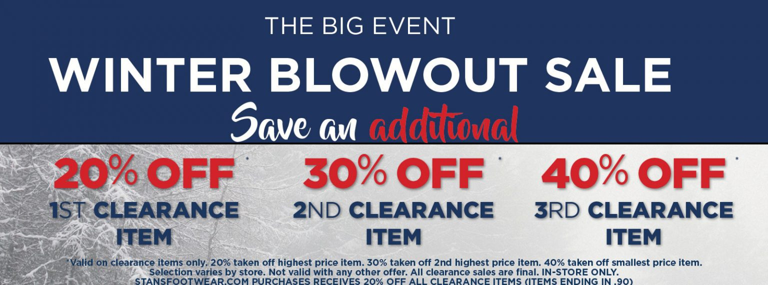 The More You Buy, The More You Save!  Winter Blowout Sale!