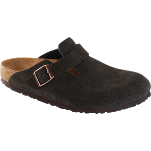 Boston Mocha Suede Soft Footbed 660461