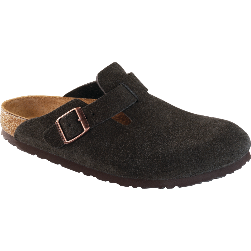 8f97d106902e Birkenstock Boston Soft Footbed Mocha Suede - Stan s Fit For Your Feet