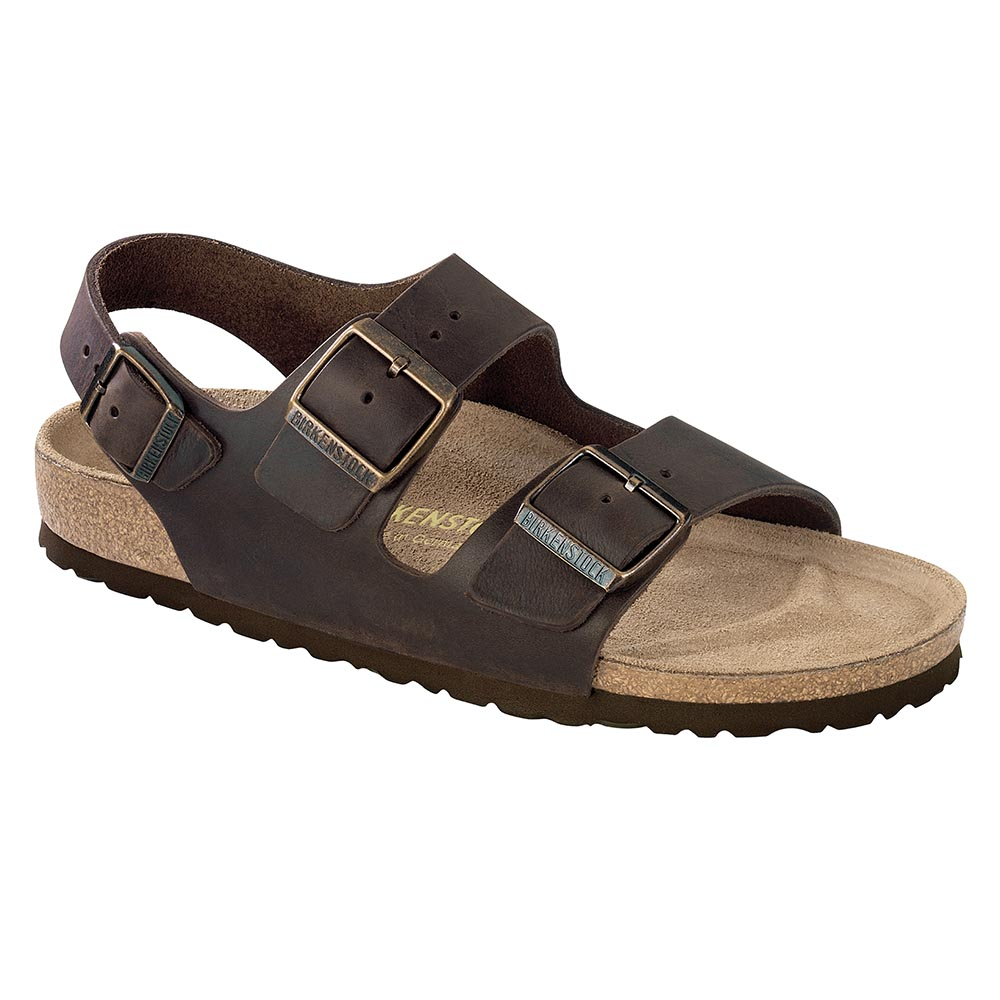 a1227c8856a4 Birkenstock Milano Oiled Leather Habana - Stan s Fit For Your Feet