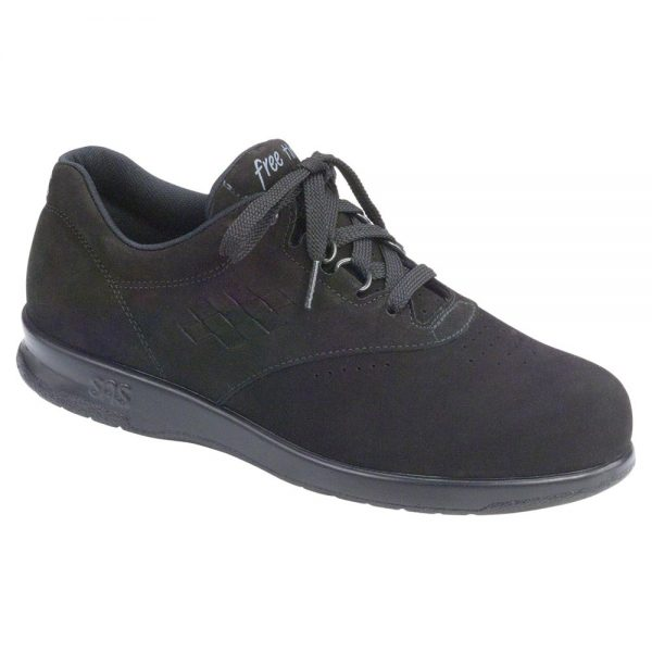 Womens Free Time Charcoal Nubuck ... sas womens freetime nubuck 0136 095 1 1