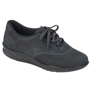 Womens Walk Easy Nero Charcoal Nubuck ... sas womens walkeasy nero charcoal nubuck 2380 237 1 1
