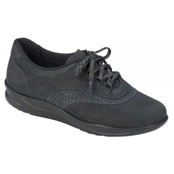 Womens Walk Easy Nero Charcoal Nubuck ... sas womens walkeasy nero charcoal nubuck 2380 237 1 1