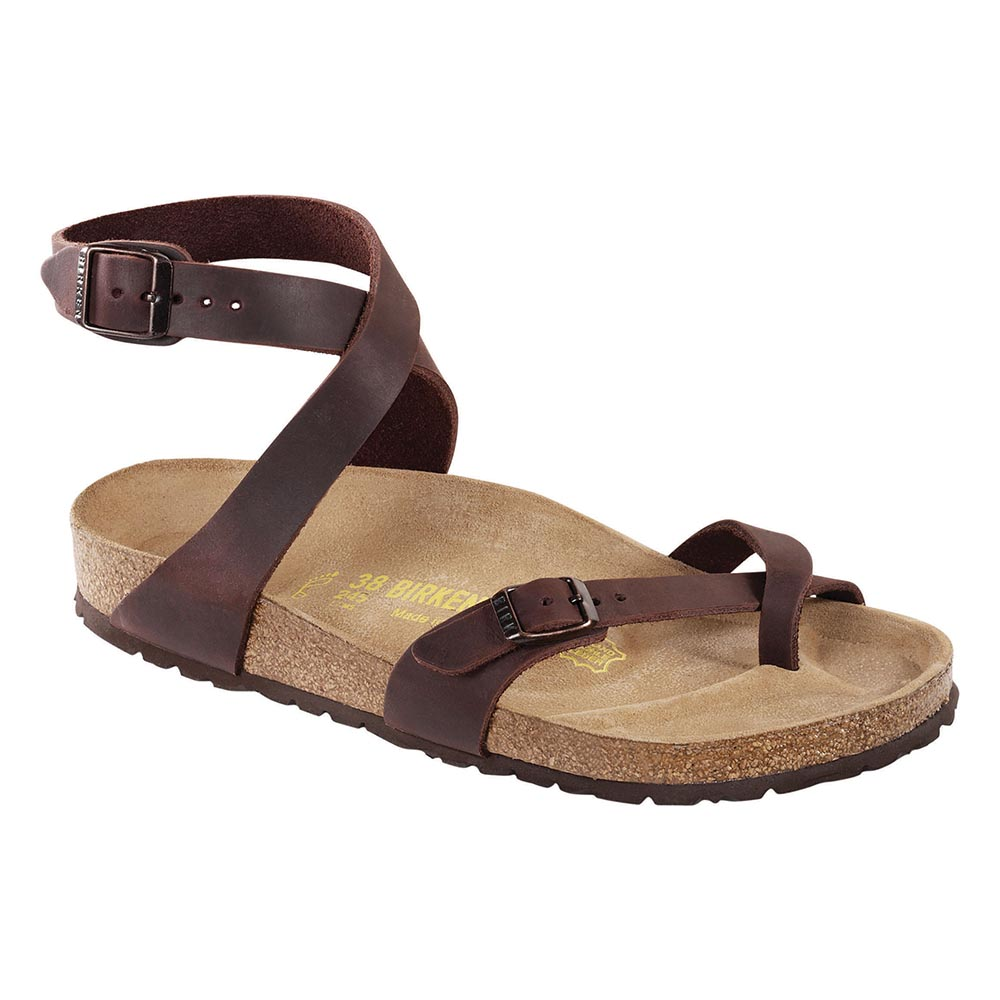 d86bce8a8fb3 Birkenstock Milano Oiled Leather Habana - Stan s Fit For Your Feet