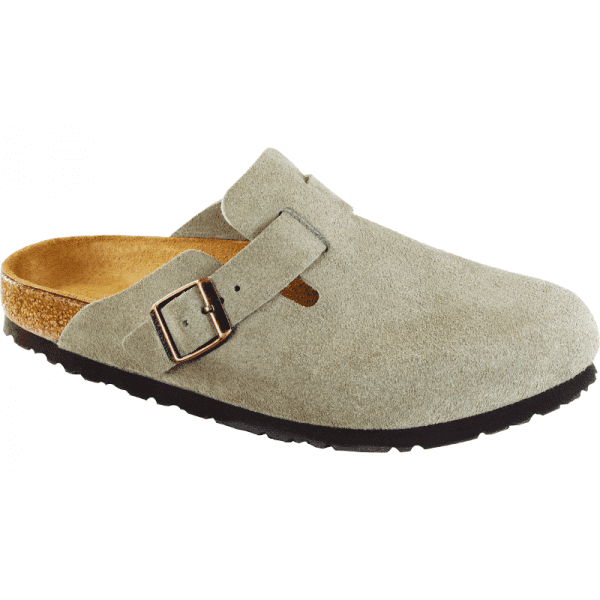 Boston Taupe Suede Soft Footbed 560771 560773