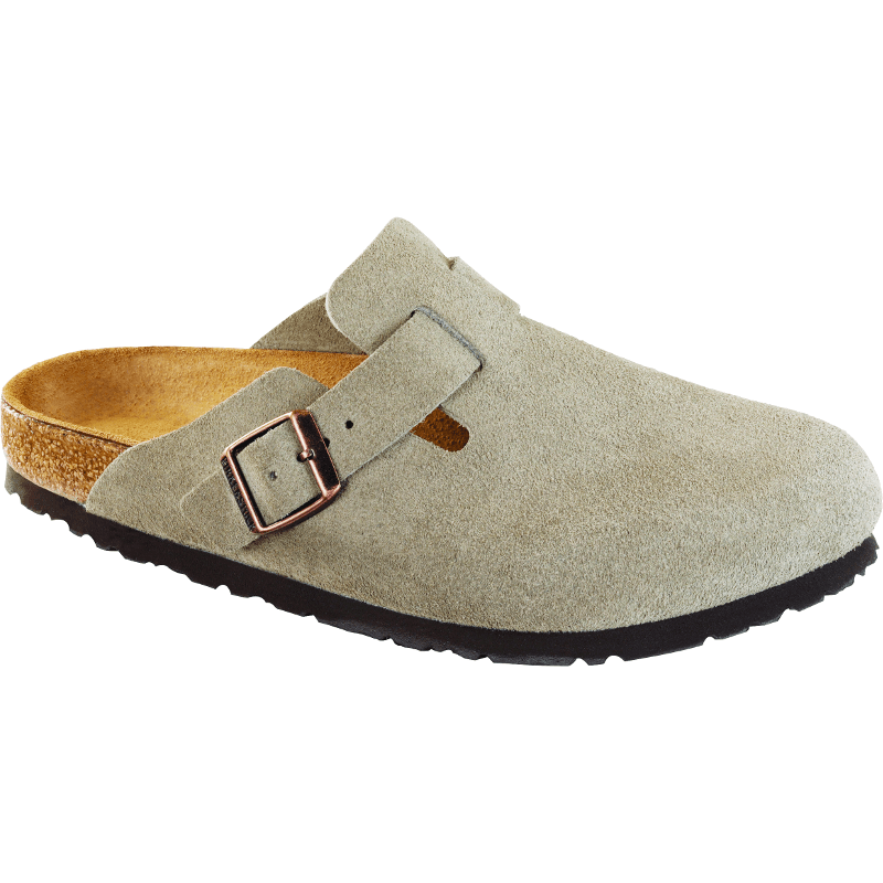 Boston Taupe Suede Soft Footbed 560771_560773