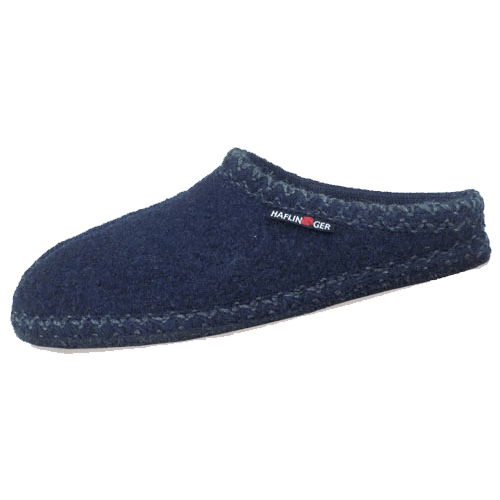 3d049a4e0b5f Haflinger AS20 Unisex Slippers Navy - Stan s Fit For Your Feet