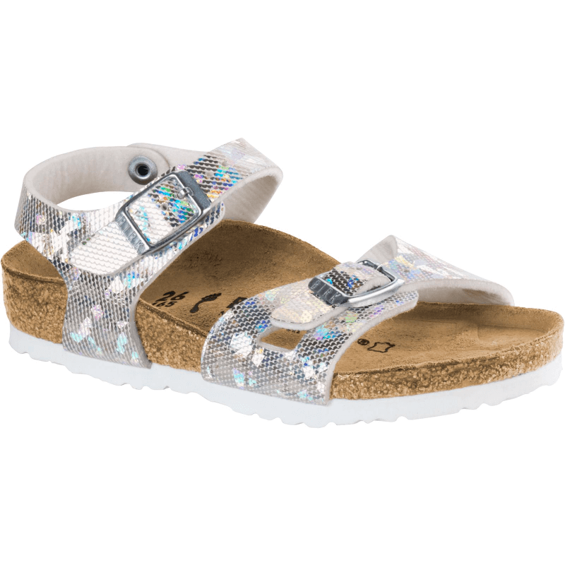 98260b1d7ab Birkenstock Rio Hologram Silver - Stan s Fit For Your Feet