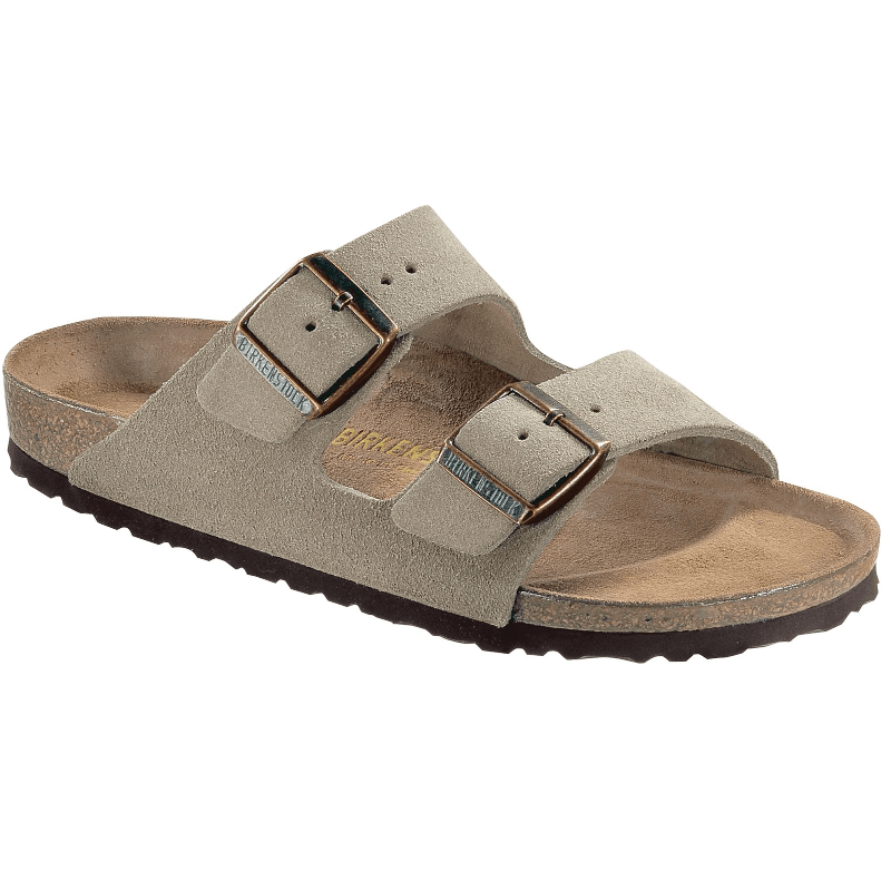 eb47e12b588b Birkenstock Arizona Suede Taupe - Stan s Fit For Your Feet
