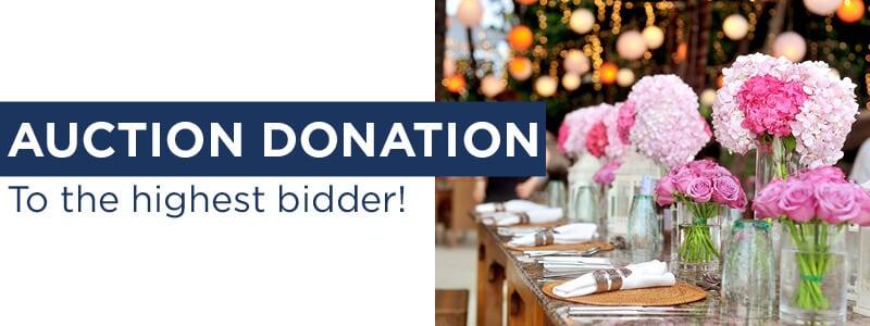 Auction Donation