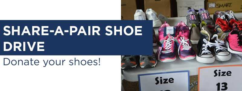 Share A Pair Shoe Drive