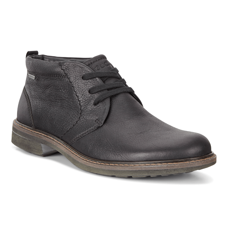 1baebc42a9 ECCO Turn GTX Chukka Boot Black