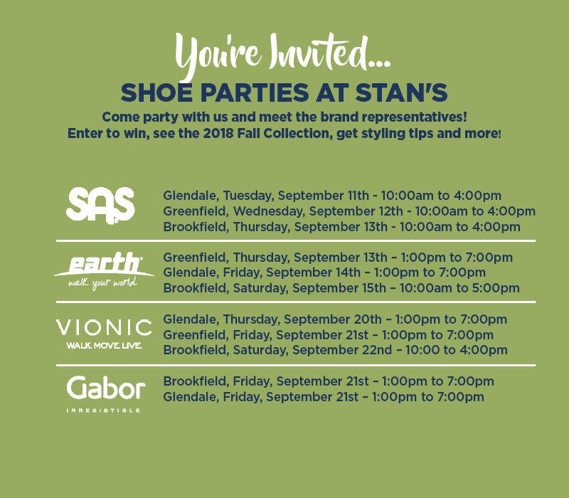 Shoe Party List