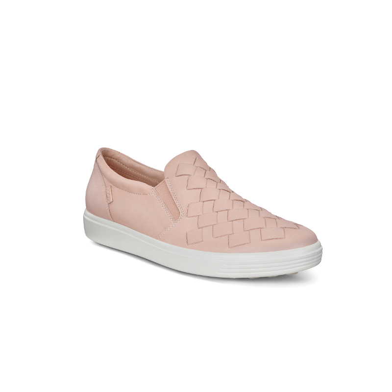 ECCO Soft 7 Woven Rose Dust - Stan's