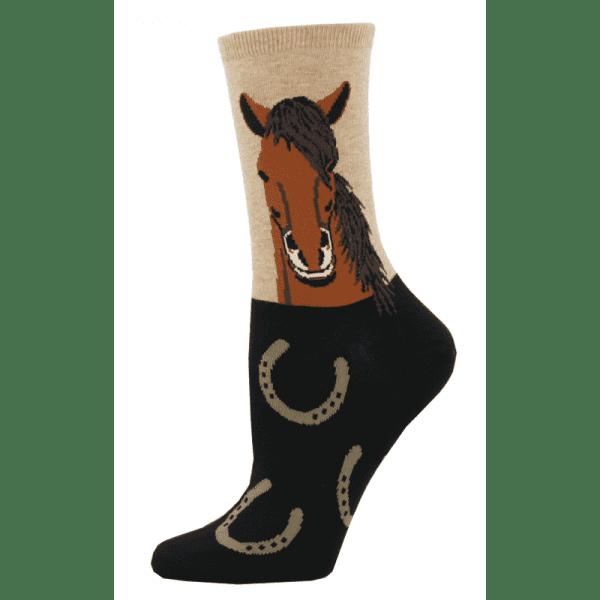 WNC760 HEM HorsePortrait Hemp