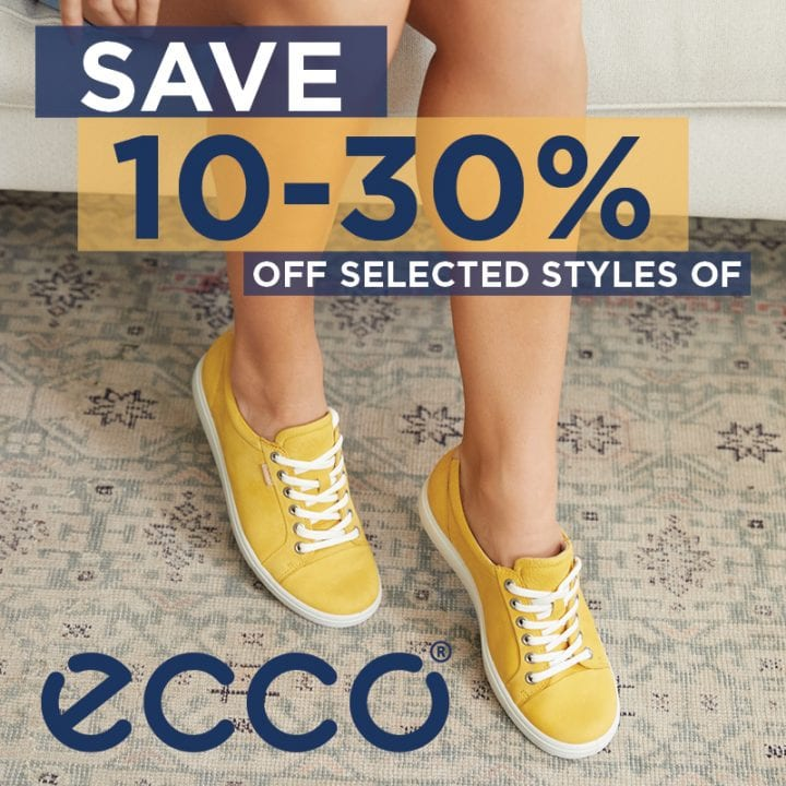 Save 10-30% off Selected ECCO