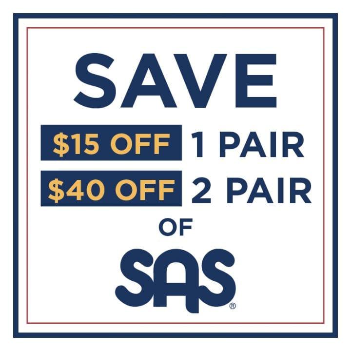 Save on SAS Shoes!