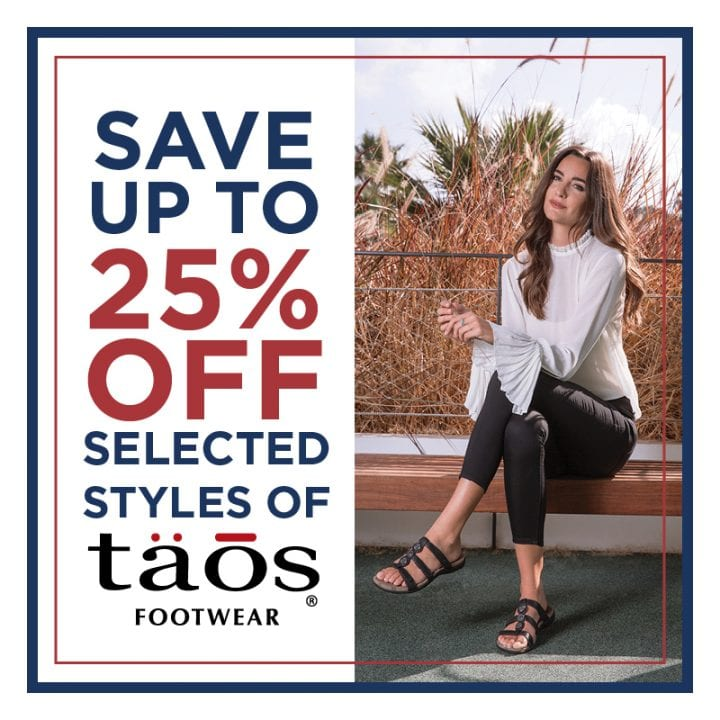Save Up to 25% Off Selected Taos!
