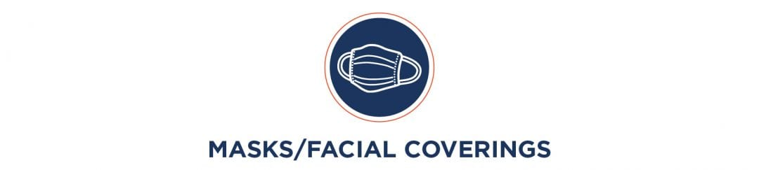 Mask & Face Coverings Required to Shop