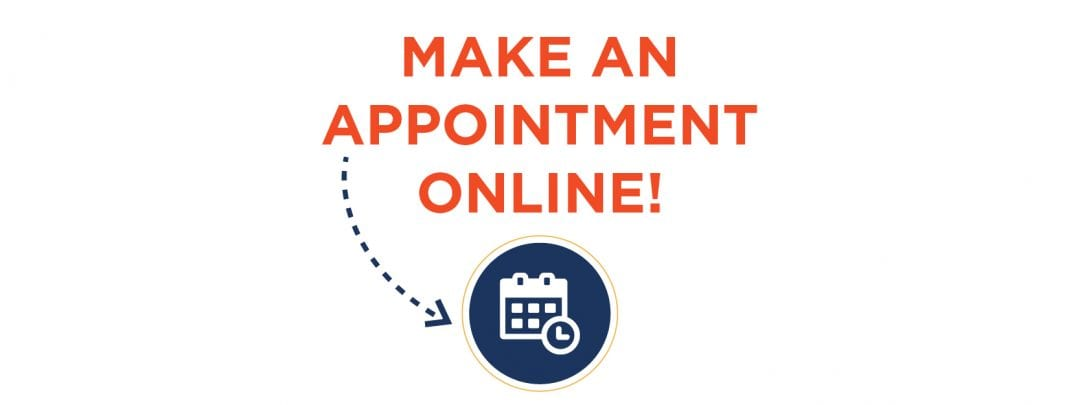 Make an Appointment arrow