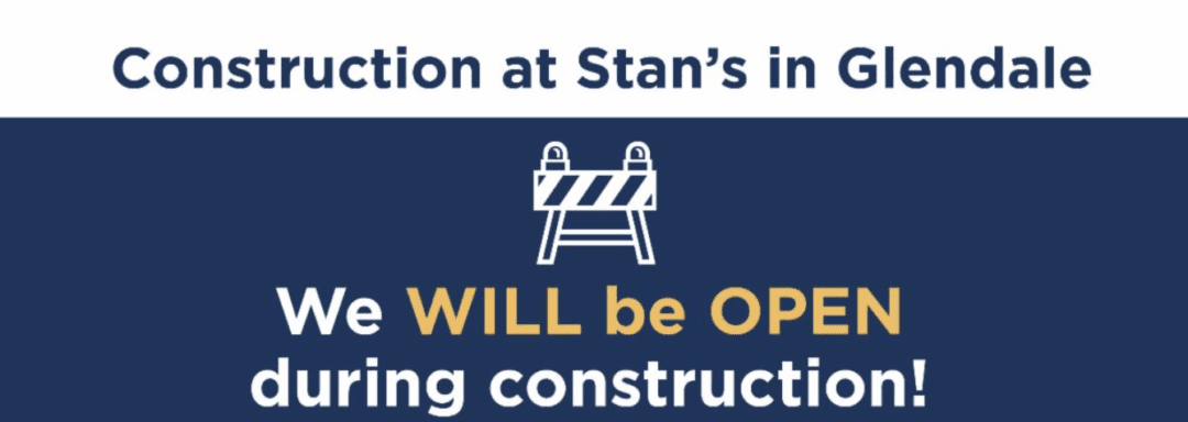 We will be OPEN during construction 7.15.2020 - TBD. Please follow signage and construction cones.