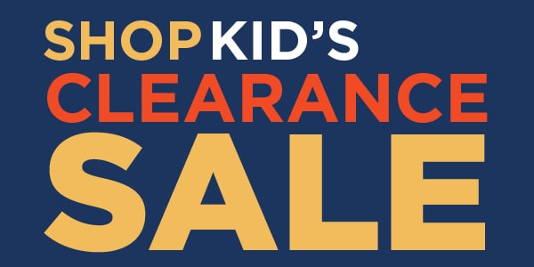 Shop Kid's Clearance SALE!