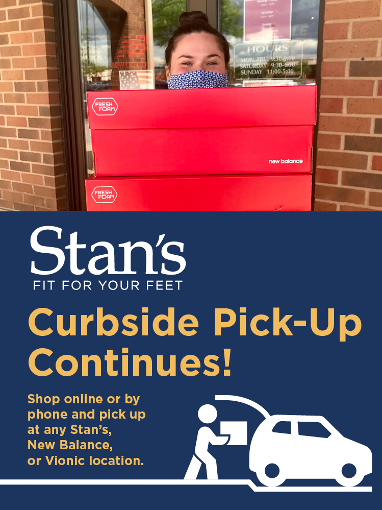 Shop Curbside at any Stan's location!