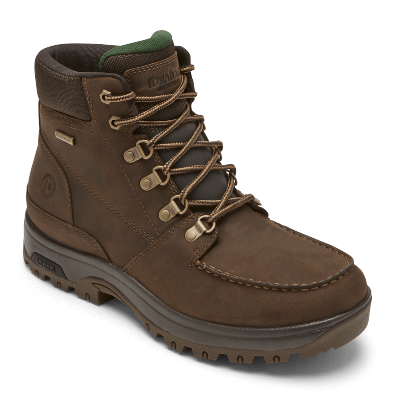 Dunham 8000 Works Moc Boot Brown Main