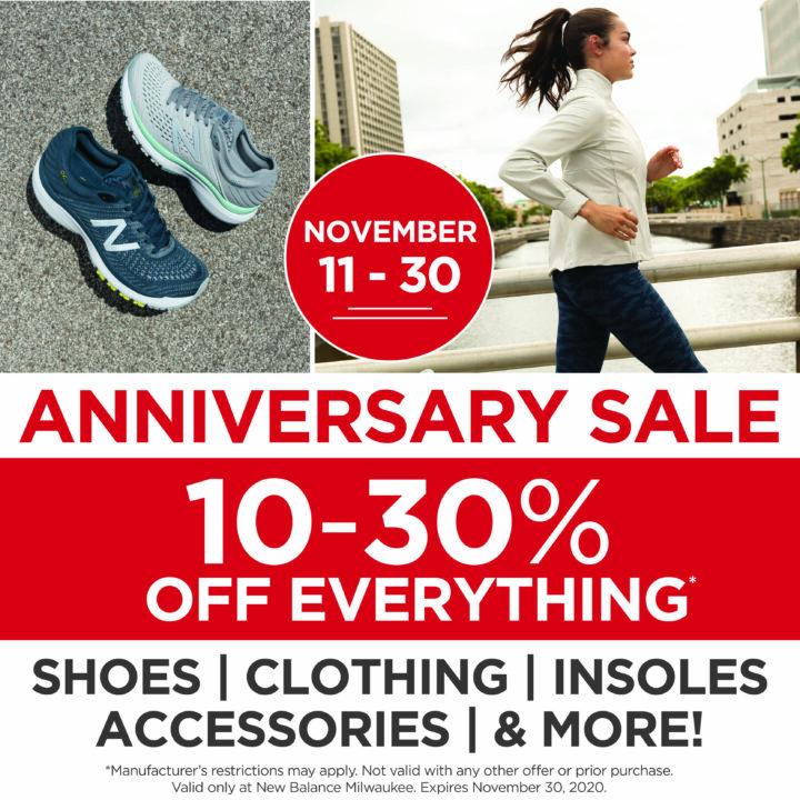 NB Anniversary Sale Square Graphic
