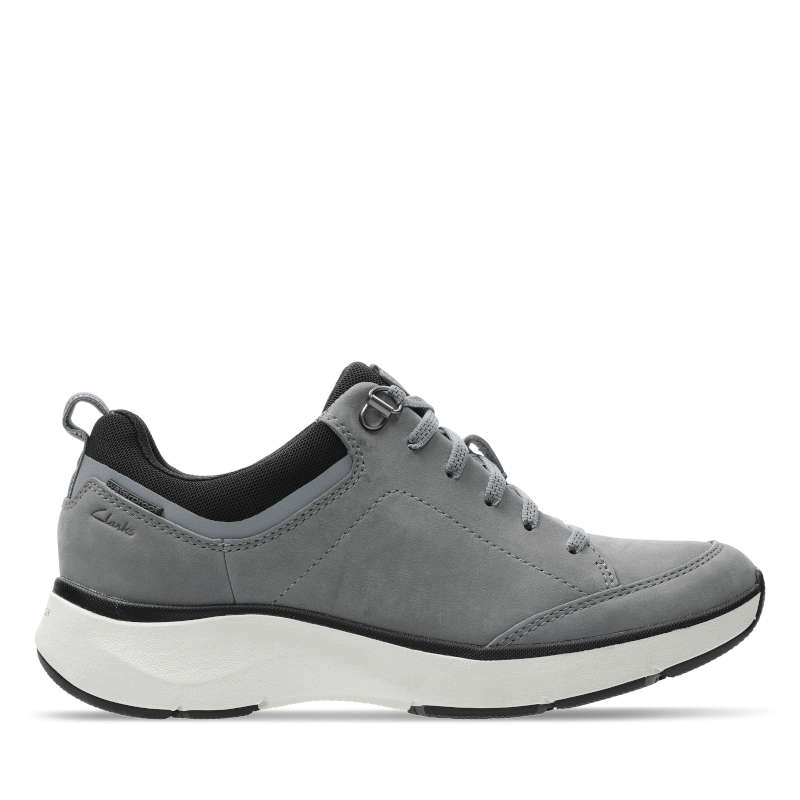 Clarks Wave 2.0 Lace Grey Right