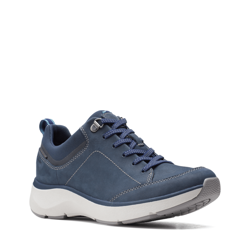 Clarks Wave 2.0 Lace Navy Main