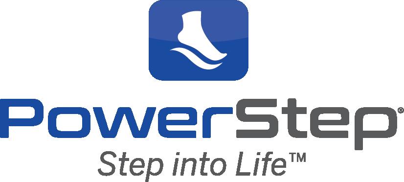 Powerstep Logo Stacked StepIntoLife