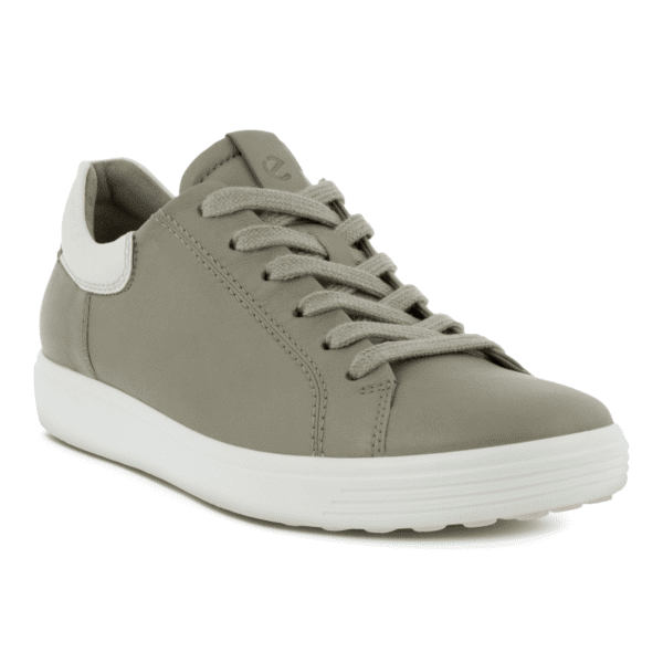 ECCO Soft 7 Street Sneaker Vetiver Limestone min