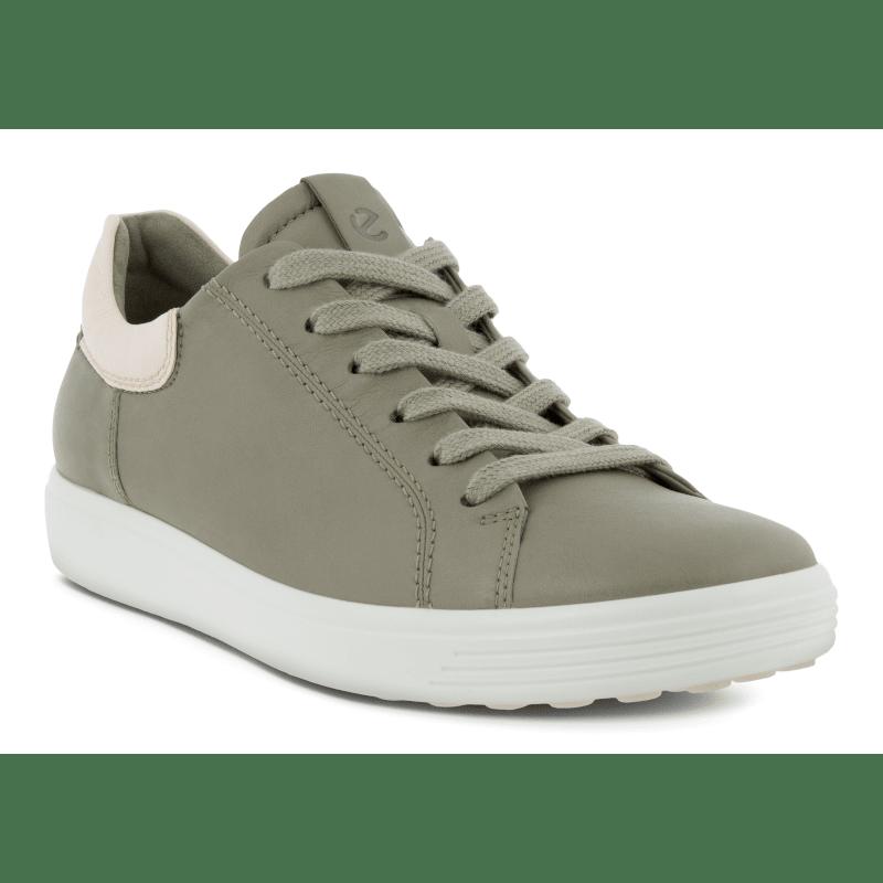 ECCO Soft 7 Street Sneaker Vetiver-Limestone-min