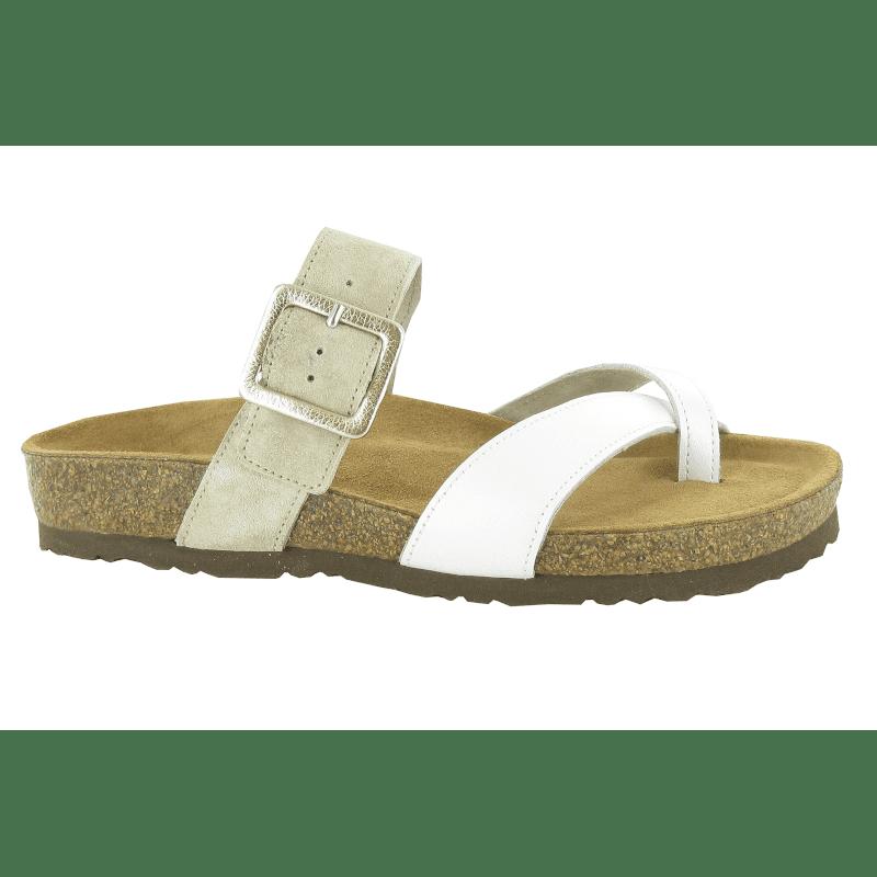 Naot Fresno White Pearl-Sand Stone-min