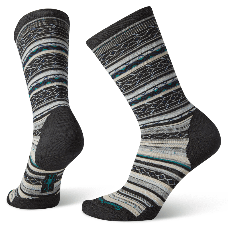 Smartwool Ethno Graphic Crew Charcoal Heather-min