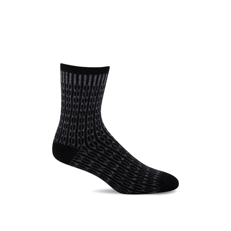Sockwell Baby Cable Black-min