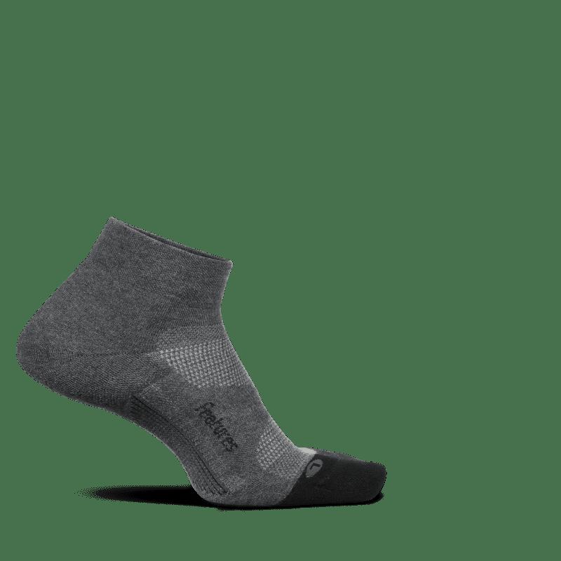 Feetures Elite Max Cushion Low Cut Gray-min