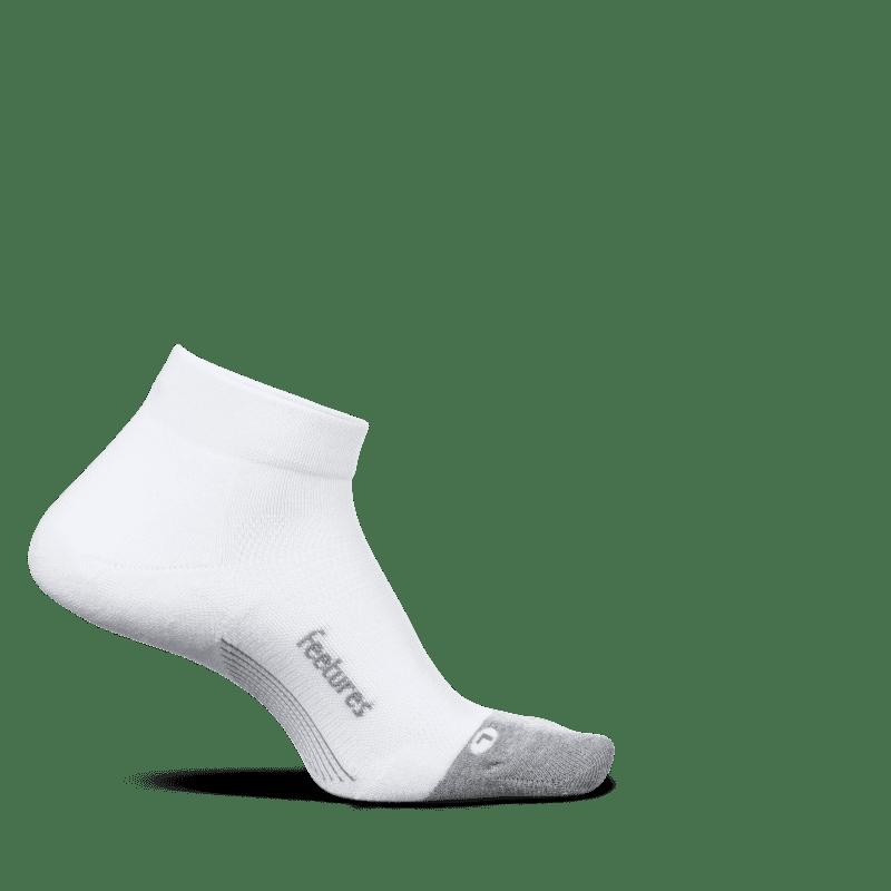 Feetures Elite Max Cushion Low Cut White-min