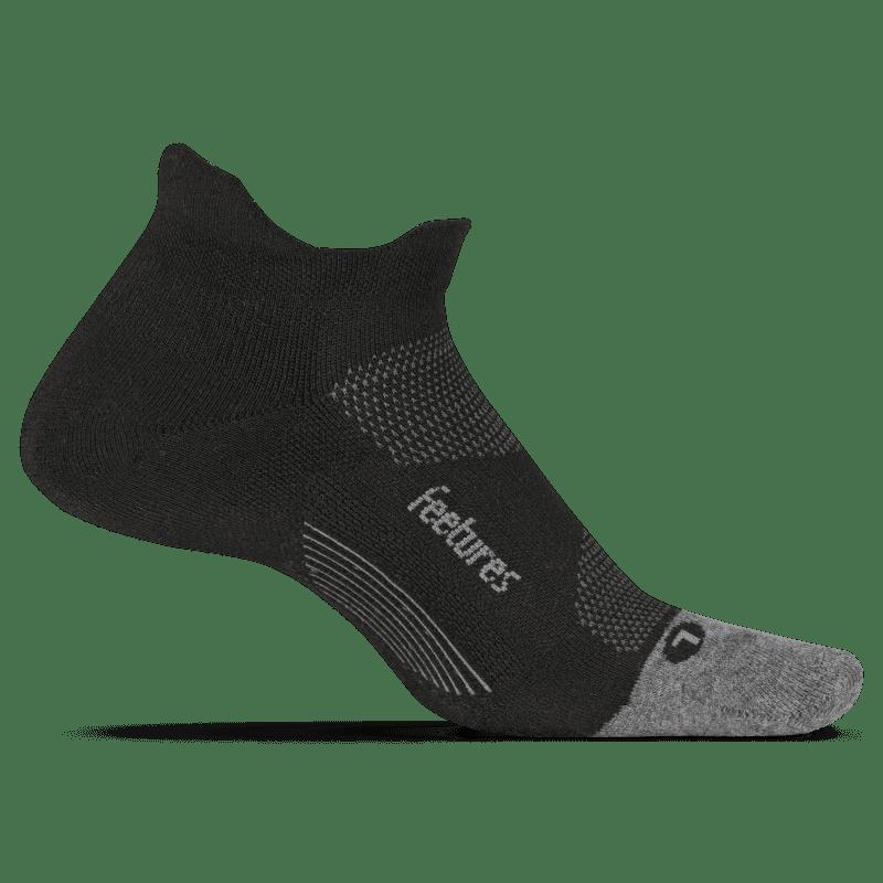 Feetures Elite Max Cushion No Show Black-min