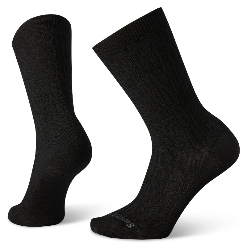 Smartwool Cable Crew Black