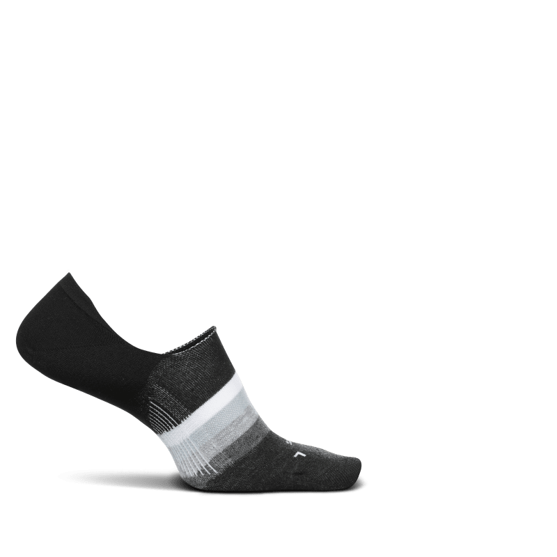 Feetures Everyday No Show Gradient Black-min
